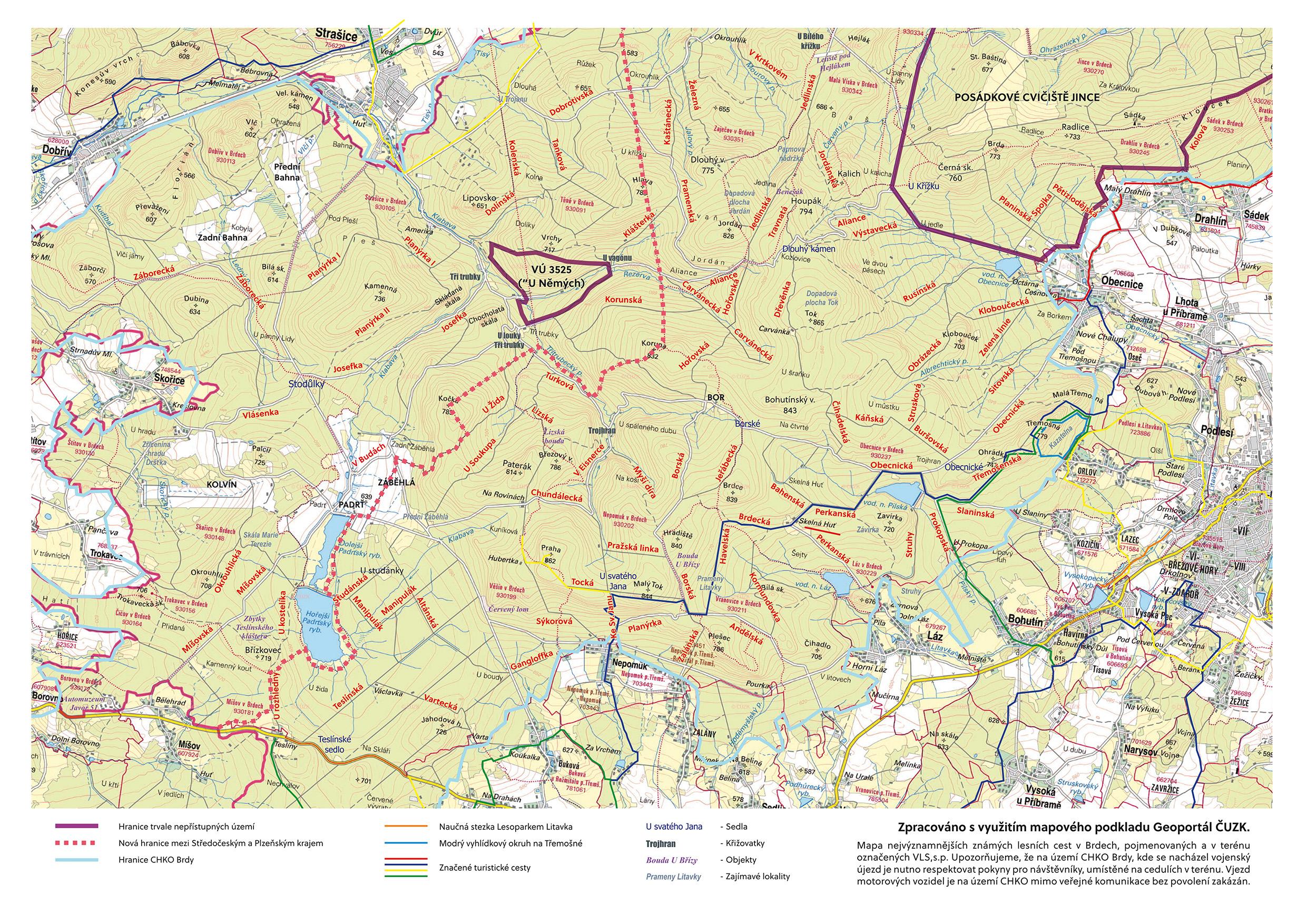 Aktualni Mapy Brd Ke Stazeni Objevbrdy Cz